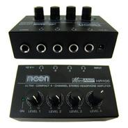Amplificador De Auriculares Moon Microamp Ha400 4 Canales