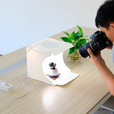Caja De Luz Fotografica Estudio Semiprofesional Doble Led
