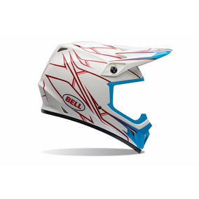 Capacete Off Road Bell Mx-9 - Pinned White