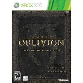 The Elder Scrolls Oblivion Xbox 360 Mídia Física Lacrado
