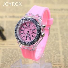 be01aee29fb Relógio Feminino Geneva Com Strass+ Frete Grátis - Relógios no ...