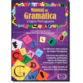 Manual Da Gramática Da Lingua Portuguesa