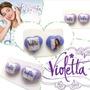 Zarcillos De Violetta - Porcelanicrom