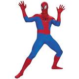 Disfraz Hombre De Lujo Araña Hombre De Alquiler De Superhér