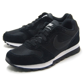 Tenis Nike Md Runner 2 Feminino Preto/branco - Original