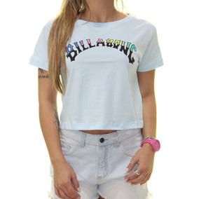 Blusa Manga Longa Billabong Feminina Flowers - Camisetas e Blusas ... 8b9e0624652