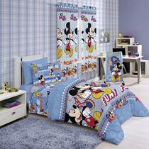 Jogo De Cama - Lençol Infantil Disney Mickey 3 Peças