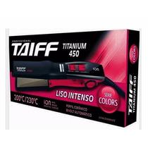 Chapa Profissional 230ºc-titanium 450-taiff-12xs/juros