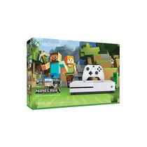 Consola Xbox One S 500gb Blanca Minecraft Nuevo Y Sellado