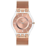 Reloj Swatch Sfp115m Femenino- Dorado