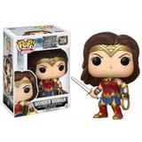 Figura Coleccionable Pop Justice League Wonder Woman Funko