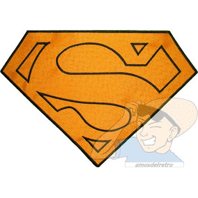 Parche Bordado Réplica Logo Capa Superman Christopher Reeve
