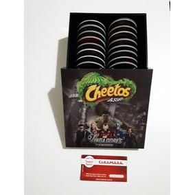 Tazos Vingadores Elma Chips Super Tazo Live Raro