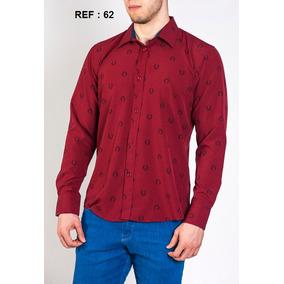 d5e14e76d91d6 2 Camisa Social Masculina Importada De Luxo Slim Original