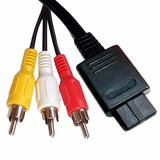 Cable Video Rca Av Nintendo Snes N64 Gamecube Envio Gratis