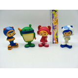 Kit 04 Team Umizoomi (action Figure) Doll Milli Bot E Geo