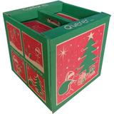 Caja Cubo Navideño (20 Unidades)