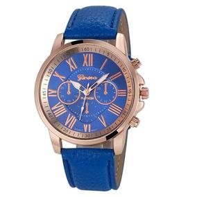 Relógio Feminino Famosa Marca Geneva Frete Grátis