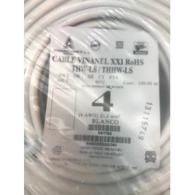 Cable Condumex Vinnanel Calibre 4 Thw-ls