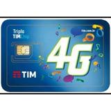 Chip Tim 4g 3/1 Normal, Micro, Nano Universal C 50 Unidades