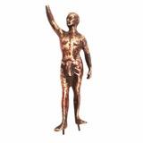 Antigua Figura Escultura De Hierro