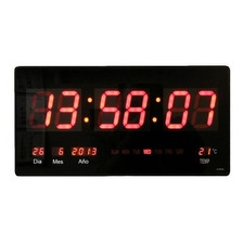 Reloj  Digital Pared Led / Fecha / Temperatura