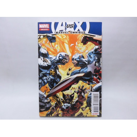 Comic Avengers Vs X-men Numeros Perdidos Omnibus Marvel Tele