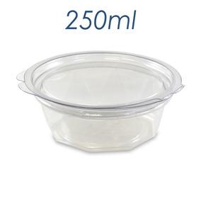 Embalagem Pote Plastico Descartavel Tampa 250ml 200 Unidades