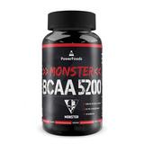 Frete Grátis! Monster Bcaa 5200 - 500 Tabletes - Powerfoods