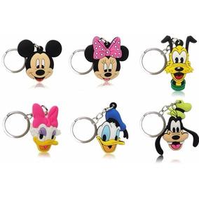 Chaveiro Disney Mickey Minnie Pateta Pluto Pato Donald