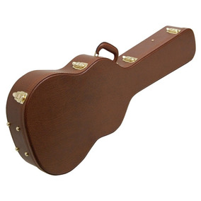 Case Violão Clássico Solid Sound Vintage Marrom Estojo