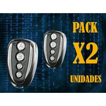 Control Remoto Copiador Automatizacion De Porton Pack X2
