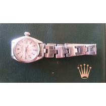 Rolex Oyster Perpetual Date Mujer - Año 1983 Caja Y Papeles