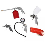 Pistola De Pintar + Kit De 4 Piezas Neumaticas Envio Gratis.
