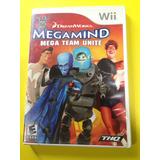 Juego Wii Original Megamind