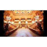 Painel Sublimado Castelo Escadaria Ópera 2,5 Alt X 3,0arg