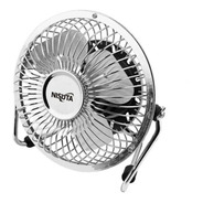 Ventilador Mini Usb Nisuta Metalico Ideal Para Escritorio