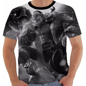 Camiseta League Of Legends Braum Santa Lol Pb
