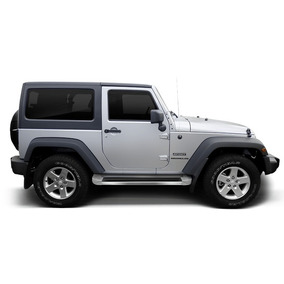 Estribo Jeep Wrangler Plataforma 2013/2017 Bright White