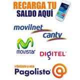 Recargas Telefonicas Movistar Digitel Y Servicios Directv