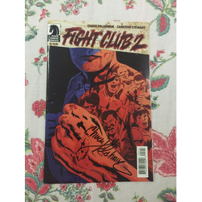 Revista Fight Club 2#2 Autografada- Chuck Palahniuk