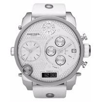 Relógio Diesel Mr. Daddy Multi-time Dz7194 Branco 12x Sem Ju