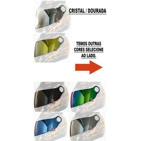 Viseira Shark S500 Air Rsf2 Rsf3 Cristal + Colorida Kit
