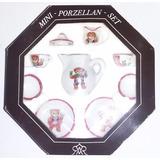 Mini Set Porcelana Navidad Regalo Amor Hogar Decoracion