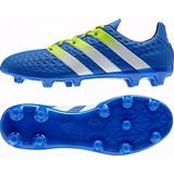 Botines adidas Ace 16.3 Fg-ag Blue/white Nuevo Modelo
