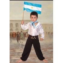 Disfraz Gaucho Con Cinturón Y Monedas Candela.