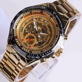 6eaeb23a2e4 Relogio Esqueletos Dourado - Relógios De Pulso no Mercado Livre Brasil