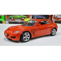 1:24 Mazda Rx8 Rojo Motor Max Display