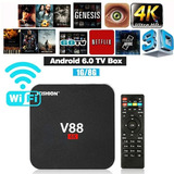 Smart Tv Box 4k Android 7.1 Scishion V88 1g/8g Ddr3