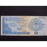 Argentina - Dos Pesos (quebrachos), Año 2001 - Sin Circular